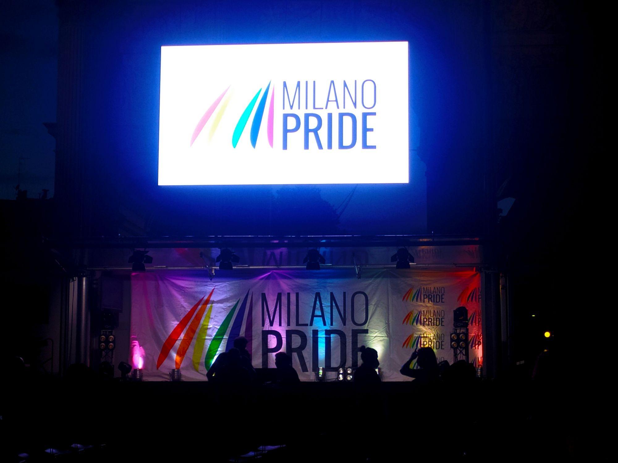 Milano Pride 2021, Muvi alle telecamere.